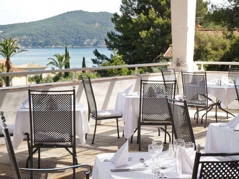 Restaurant «Le Parc» et sa Terrasse