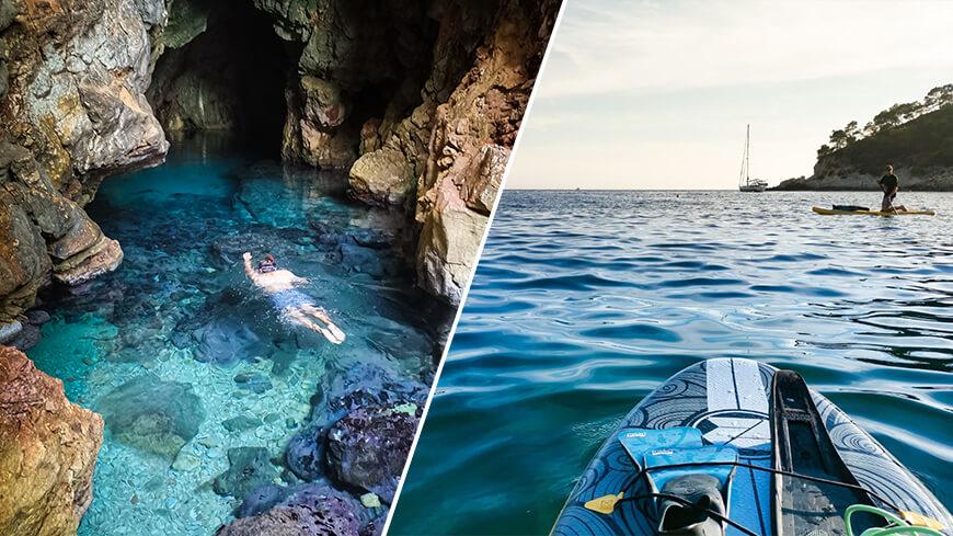 La grotte marine de Port d'Alon